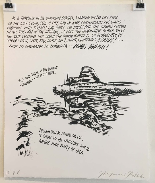 , 'No Title (My B-17),' 2003, The LODGE