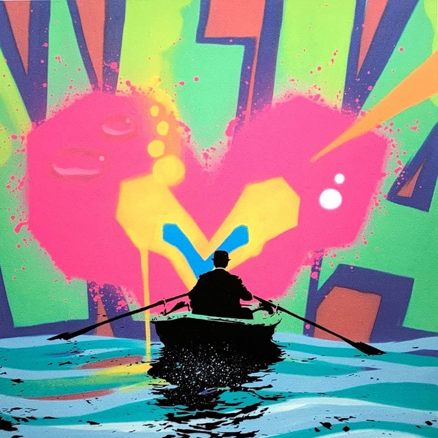 Nick Walker, 'Sea of Love', 2017, Print, Screenprint in colours, Forum Auctions