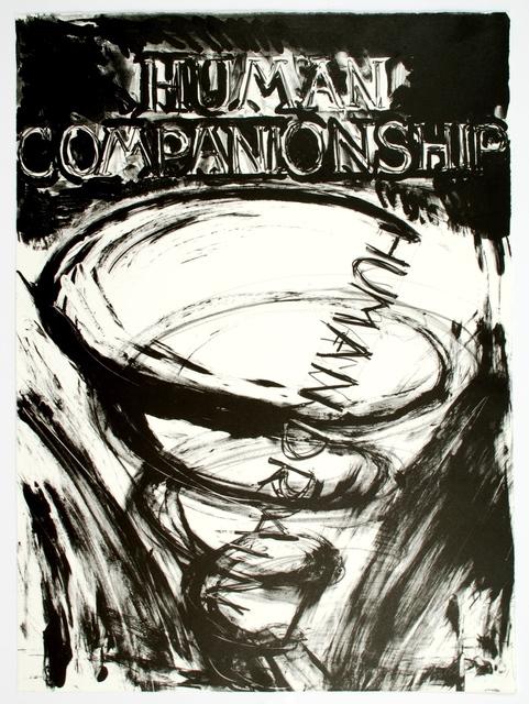 , 'Human Companionship-Human Drain,' 1981, Art Bärtschi & Cie   Geneva, Switzerland