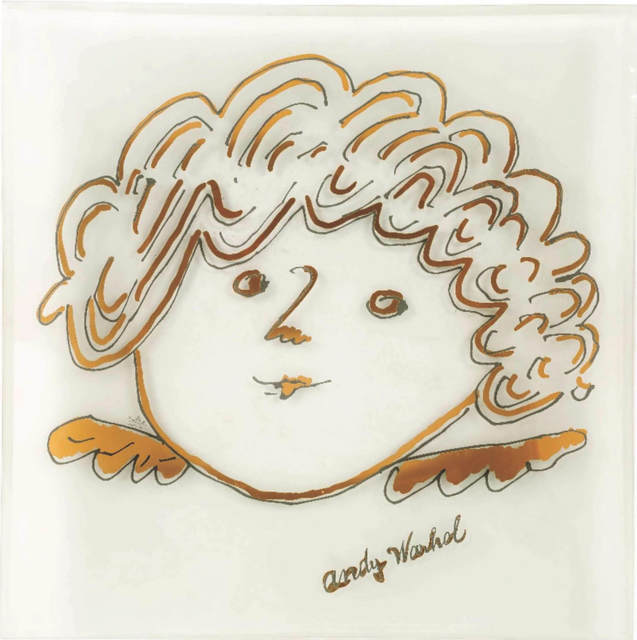 Andy Warhol, 'Golden angel', ca. 2000, Robert Eagle Fine Art