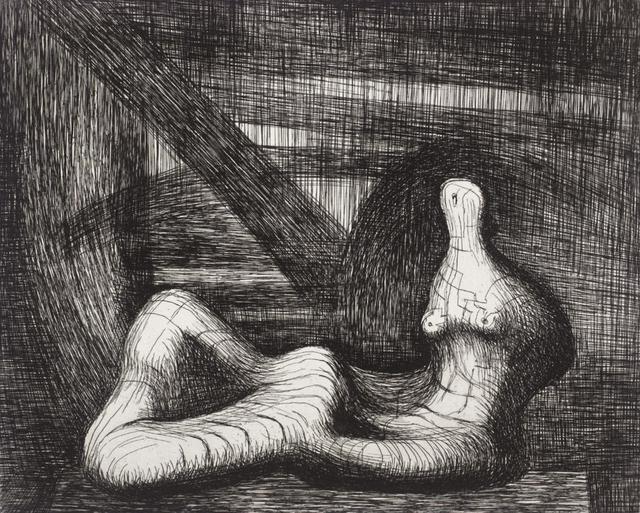 , 'Reclining Figure Piranesi Background III,' 1979, Gallery Neptune & Brown