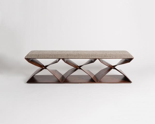 Carol Egan, 'Sculptural Hand-Carved Bench', 2013, Maison Gerard