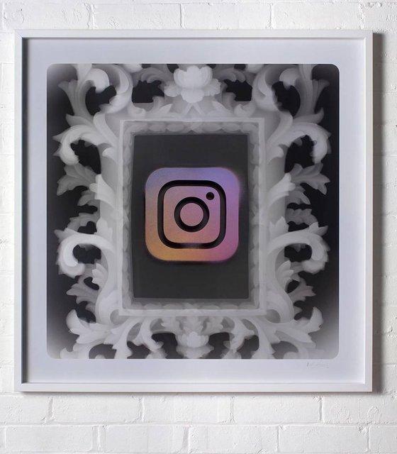 , 'Instaframed,' 2018, Krause Gallery