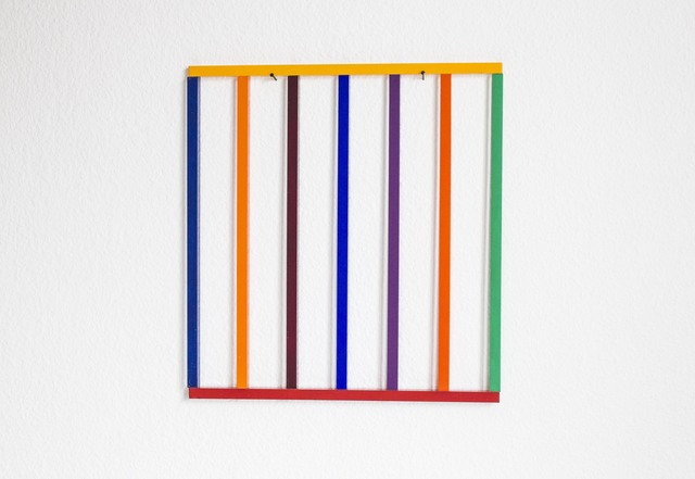 , 'Coloured Wall Painting III,' 2014, Galerie Michael Sturm