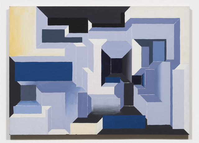 , 'PORTAL BLUES, GREYS AND YELLOW,' 1969, Jessica Silverman Gallery
