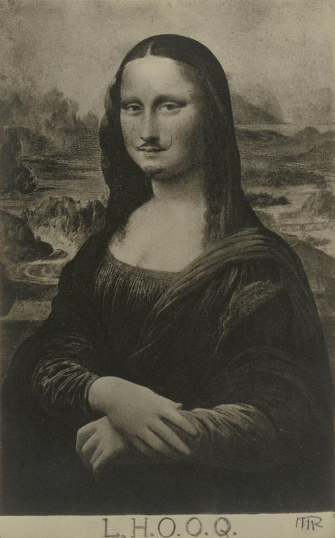 "Favori Man Ray | Mona Lisa as seen by Duchamp (""La Joconde"" vue par  LQ42"