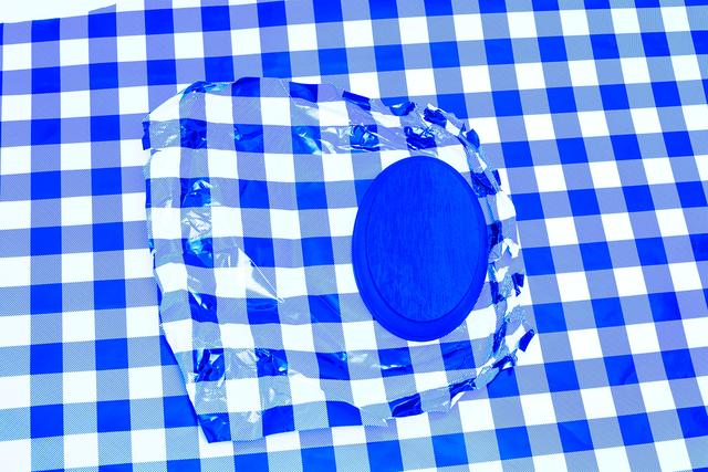 , 'Blue (Placing),' 2015, Inman Gallery