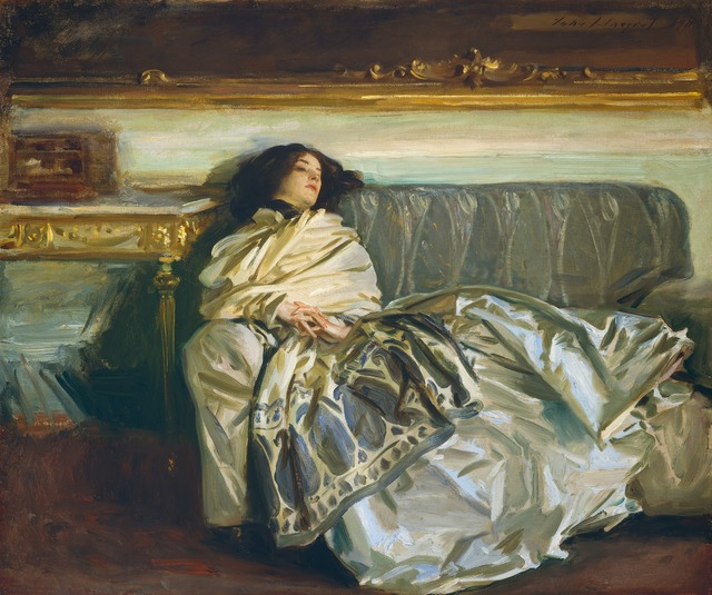 John Singer Sargent, 'Nonchaloir (Repose)', 1911, National Gallery of Art, Washington, D.C.