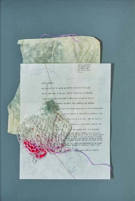 Amelia Etlinger, 'Untitled (How good of you to write me of catalogue of Rolando)', 1970-1980, OSART GALLERY