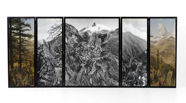 , 'Collage #109,' 2018, Nora Fisch