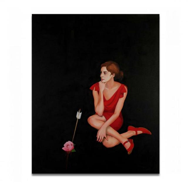 Loretta Hirsch, 'RED 1', Exhibit by Aberson