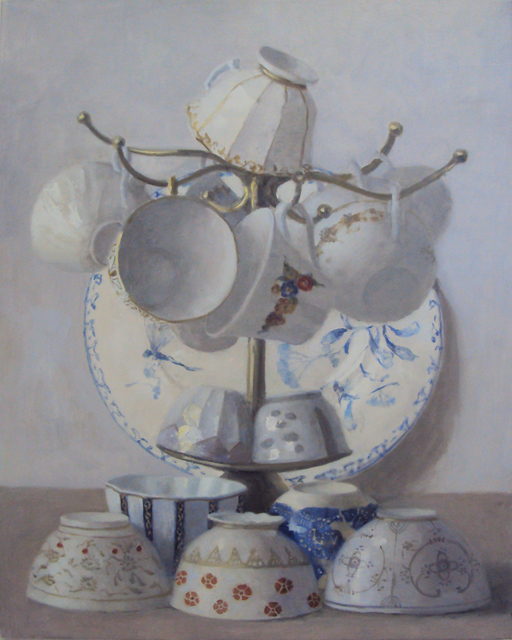 , 'Overflowing Cups,' 2015, Gallery Henoch