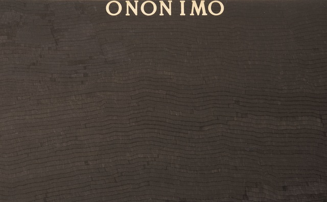 Alighiero Boetti, 'Ononimo', 1975, Ben Brown Fine Arts