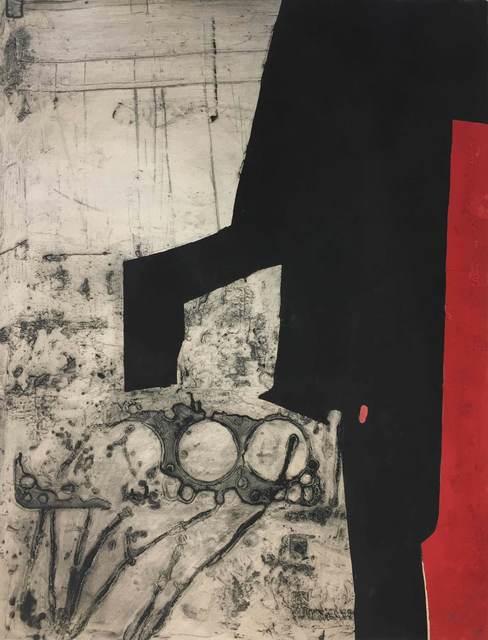 Antoni Clavé, 'Instrument Bande Rouge', 1979, Print, Carborundum etching with embossing, Nikola Rukaj Gallery