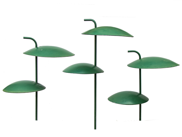 , 'Garden Saucer Lamps,' , Open Air Modern
