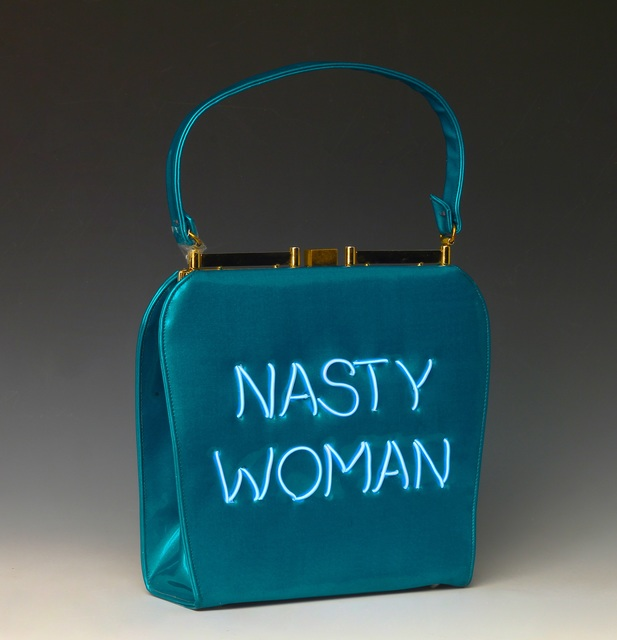 , 'Pro Choice Nasty Woman 5/10 (blue),' 2017, Nancy Hoffman Gallery