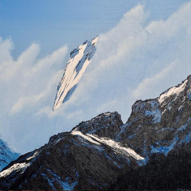 , 'Badile2 - verum 3, Wolken,' 2008, Galerie Palü