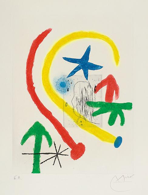 Joan Miró, 'Chemin de ronde II (Parapet Walk II)', 1966, Phillips