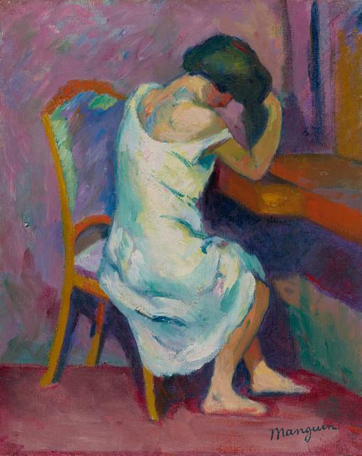 , 'Jeanne à sa coiffeuse,' 1904-1905, Stoppenbach & Delestre