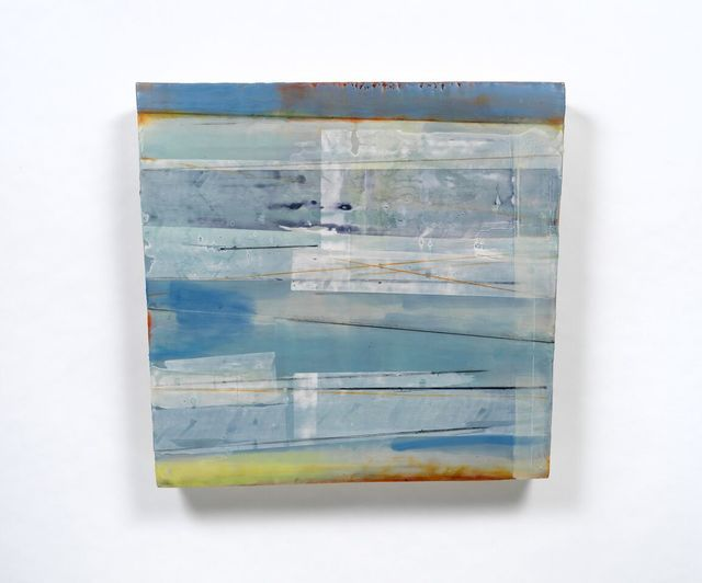 , 'Deconstructed Aqua,' , Water Street Gallery