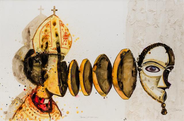 Steve Bandoma, 'Papotage', 2016, Magnin-A