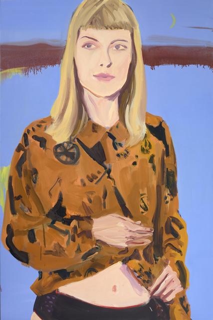 , 'Katie In The Moonlight,' 2015, Miller Gallery