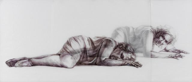 , 'Waiting,' 2018, Hofheimer Gallery