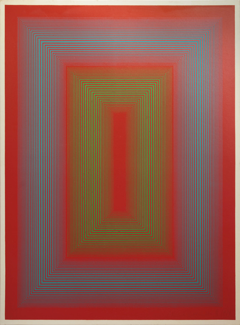 , 'Reflections II - Red Line,' 1979, David Richard Gallery