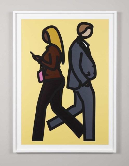 , 'New York Couple 5,' 2019, Cristea Roberts Gallery