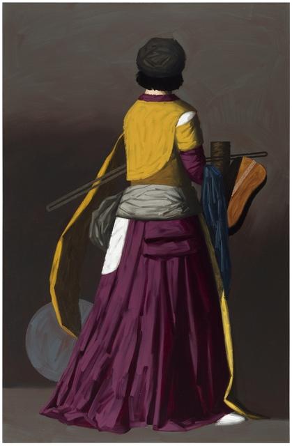 , 'Purple Figure,' 2017, Galleria Heino