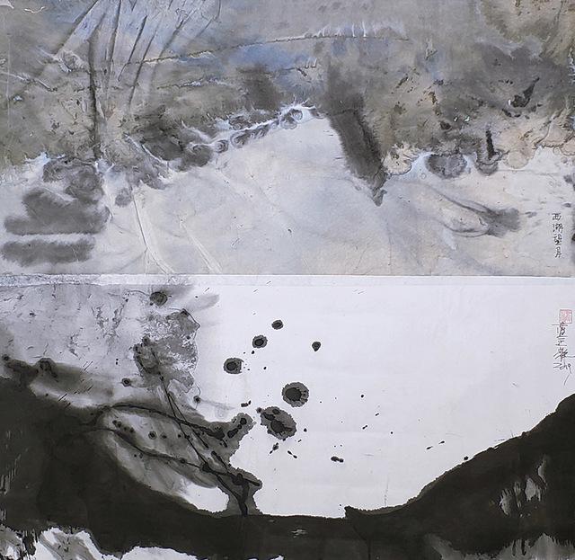 Lan Zhenghui, 'Full Moon at West Lake S026', 2019, Alisan Fine Arts