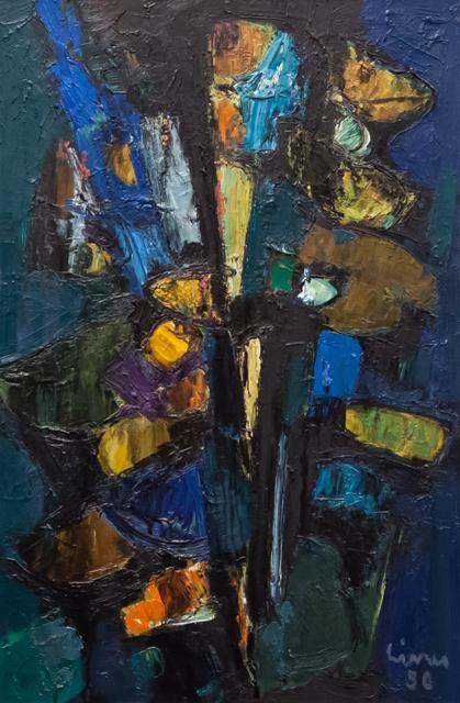 , 'Composizione blu-verde-giallo-nero,' 1956, Artrust