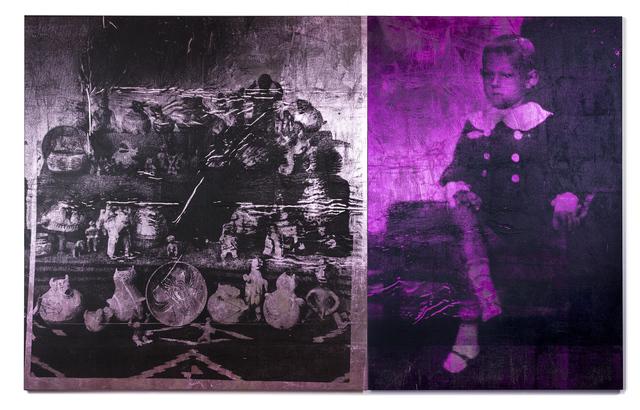 , 'Boy (magenta) & pink ceramics,' 2018, Roslyn Oxley9 Gallery