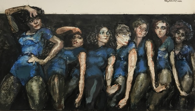 , 'Andrea Among Dryads (A Chorus Line),' 1982, Gallery NAGA