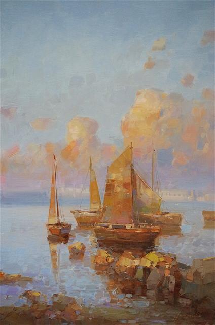 Vahe Yeremyan, 'Sail Boats', 2016, Vayer Art
