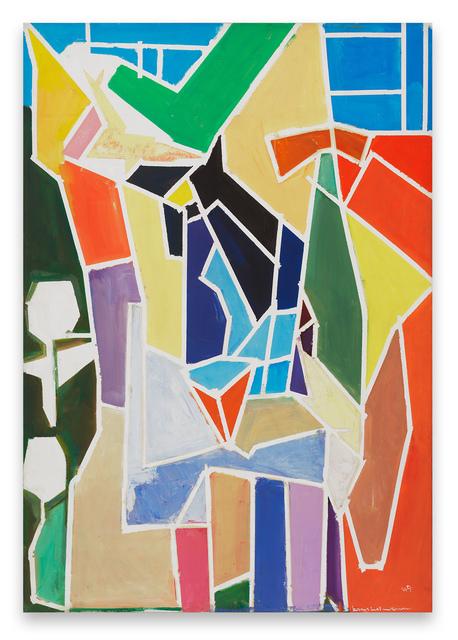 , 'The Blande Interior,' 1949, Miles McEnery Gallery