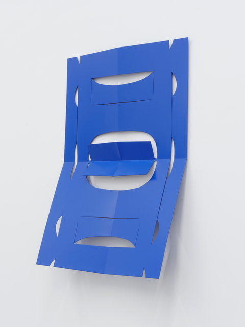, 'C.Ar.D. Cutout (Traffic Blue),' 2016, Altman Siegel
