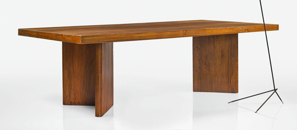 Pierre Jeanneret, 'Library Table,' circa 1955-1958, Sotheby's: Important Design