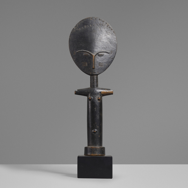 'Akua'ba figure', Sculpture, Carved and lacquered wood, Rago/Wright