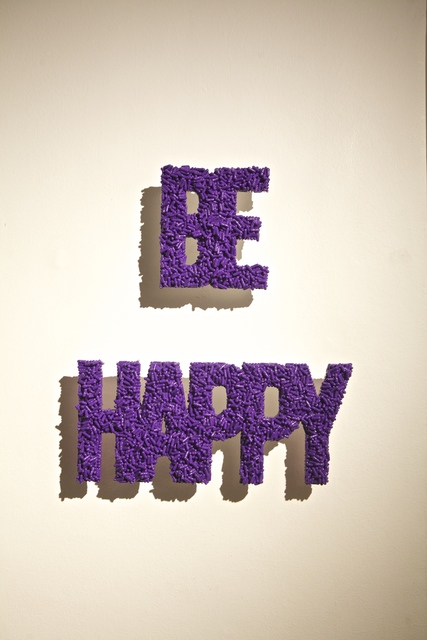 , 'BE HAPPY,' 2016, Galleria Ca' d'Oro