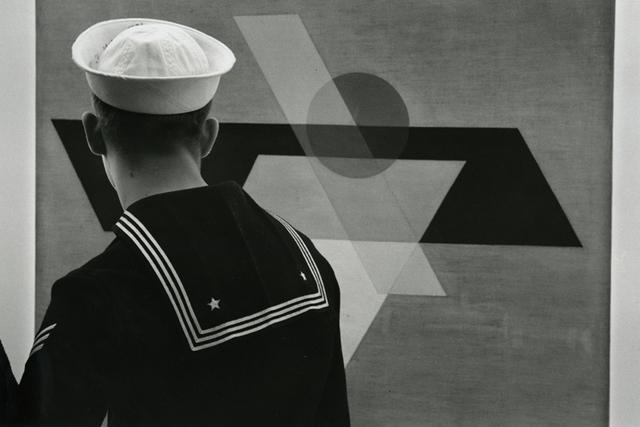 , 'Sailor, Guggenheim Museum New York,' 1961-printed before 1986, Be-hold