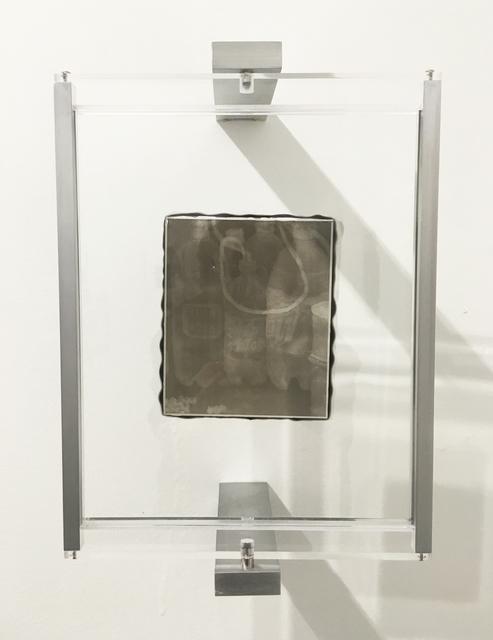 , 'Woodburytype Print of Study Plate 7, Crack Den - (grey),' 2015, TJ Boulting