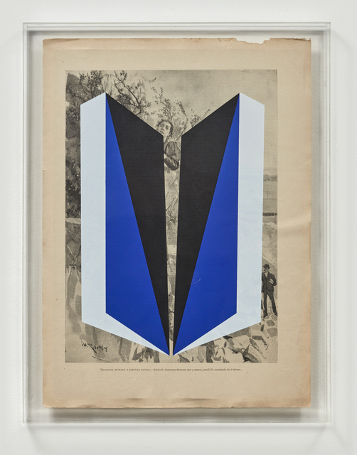 Jorge Cabieses, 'Untitled', 2015, Mixed Media, Silkscreen on lithography in acrylic box, Galería Lucia de la Puente