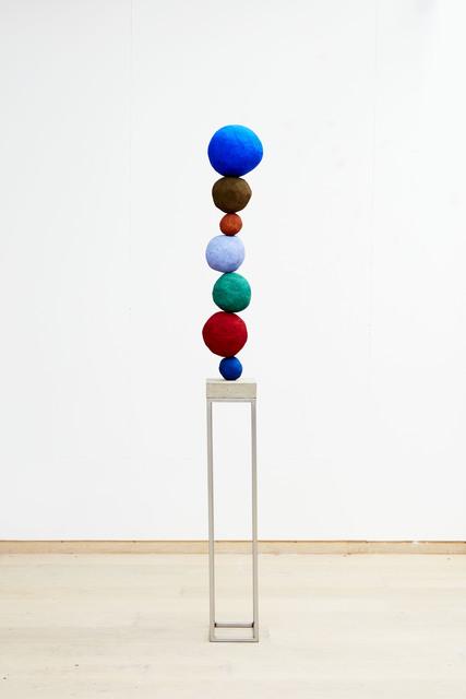 , 'Stack 7 (Ultramarine Blue) II,' 2016, Winston Wächter Fine Art