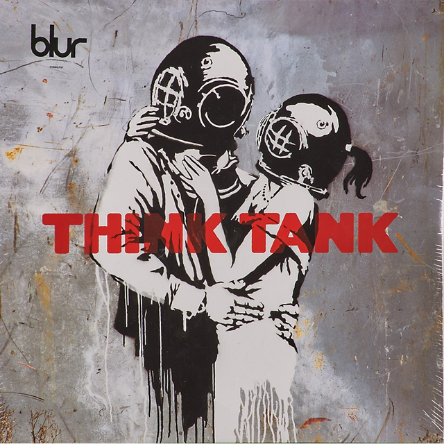 "Banksy, 'Two LP albums featuring artwork by Banksy, ""Think Tank by Blur"" (sealed) and ""Peanut Butter Wolf"" Badmeaninggood compilation', 2003, Rago/Wright"
