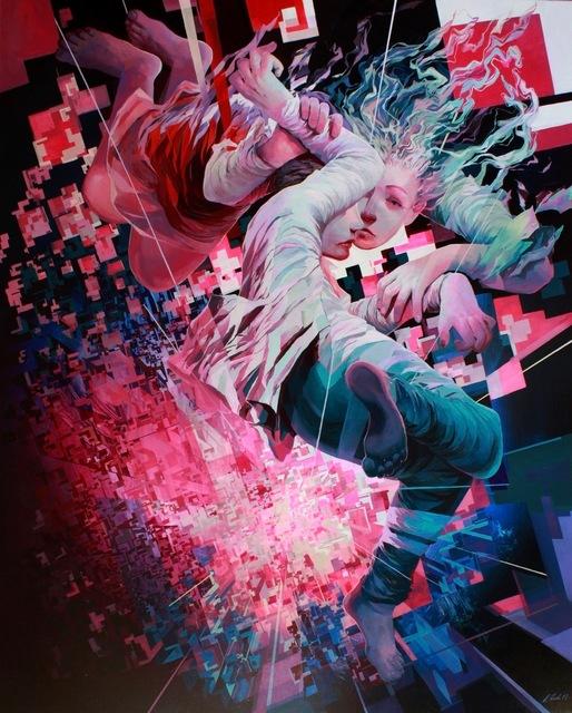 , 'Don't look down,' 2018, KIRK Gallery
