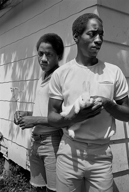 , 'Young men with rabbit, Baton Rouge, Louisiana,' 1983, The Photographers' Gallery   Print Sales