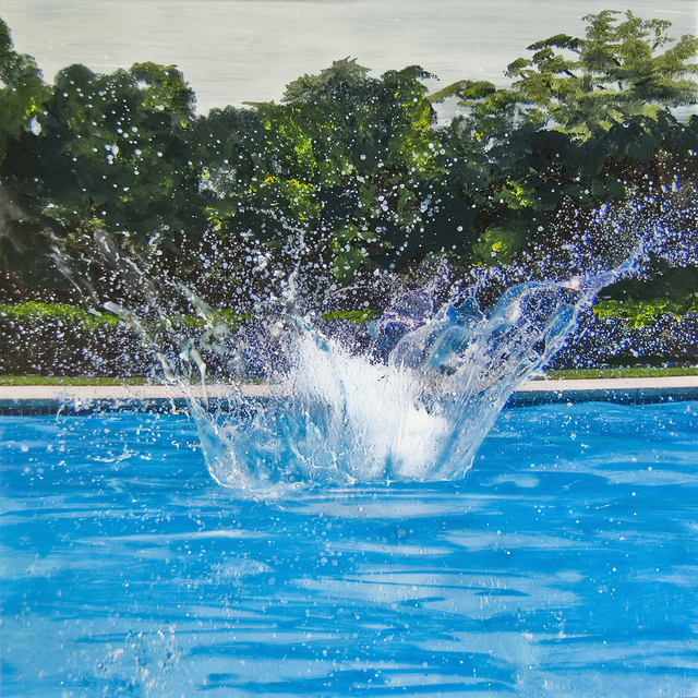 , 'Big Splash Study III,' 2011, Turner Carroll Gallery