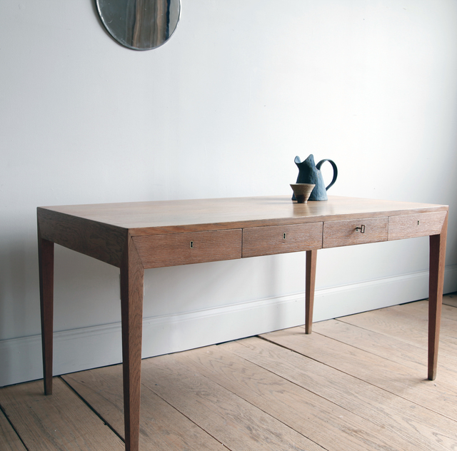 , 'Severin Hansen Oak Desk,' 1950-1959, Lawton Mull