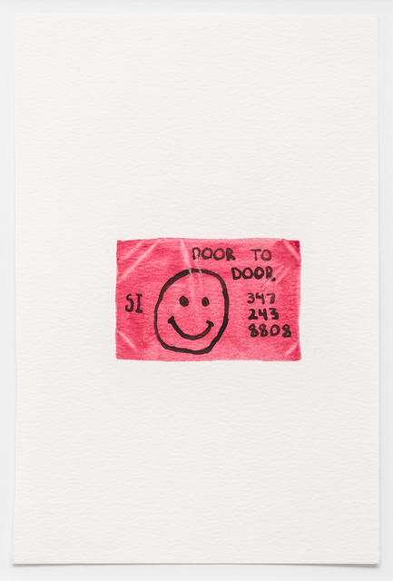 Colby Bird, '1-617-504-2473', 2018, Lora Reynolds Gallery
